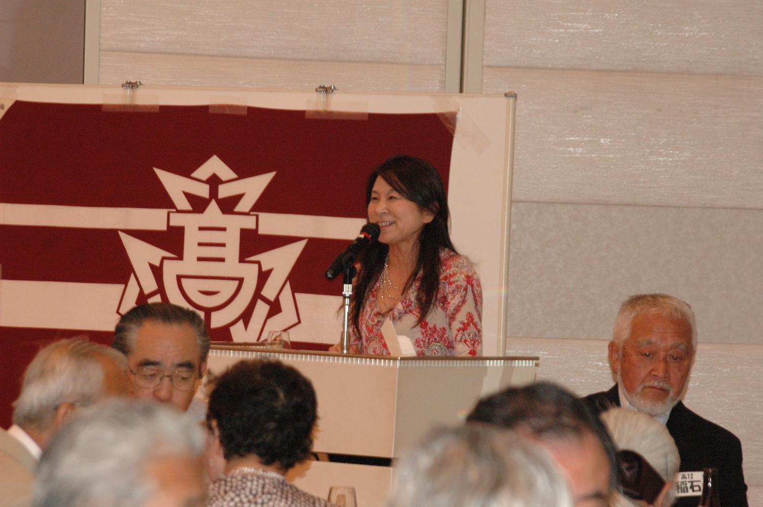 司会はいつもの高29回 上林久美子さん 5次会まで続きました